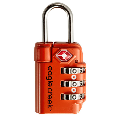 Eagle Creek Travel Safe TSA Combination Lock Flame