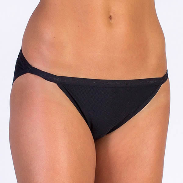 Exofficio Women's Give-N-Go Fast-Dry String Bikini Black