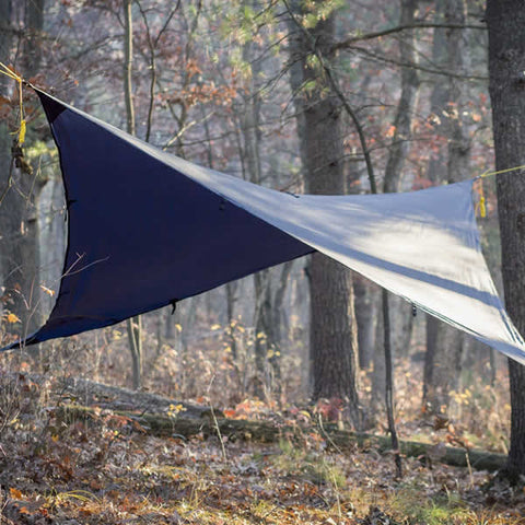 Grand Trunk All Purpose Hammock Rainfly in use