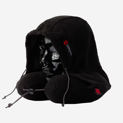 Grand Trunk Hooded Travel Pillow black