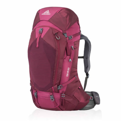 Gregory Deva Women's Hiking Backpack Plum Red