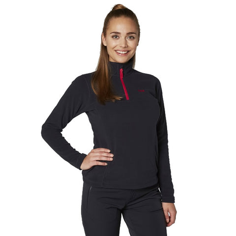 Helly Hansen Women's Daybreaker 1/2 Zip Polartec Fleece Top Navy