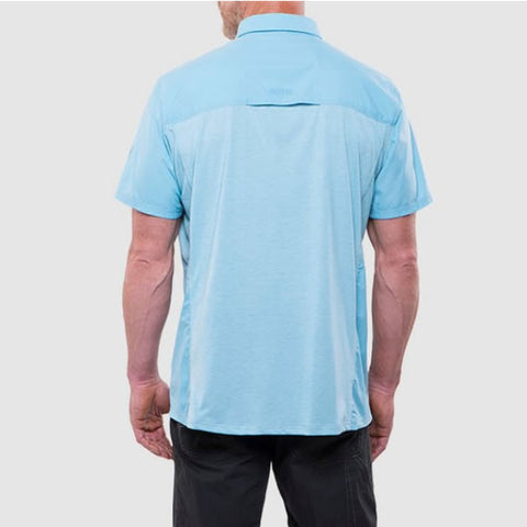 Kuhl Airspeed Men's Short-Sleeve Quick-Dry Travel Shirt side view rear view