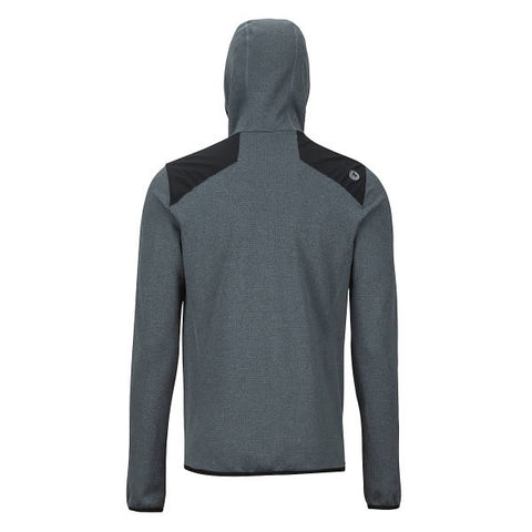 Marmot Men's Preon Hybrid Hoody Active Fleece Jacket front view