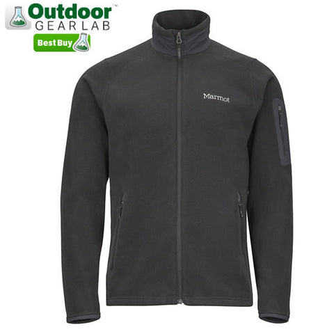 Marmot Mens Reactor Jacket - Polartec Classic 100 Wt Fleece