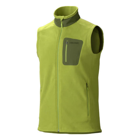 Marmot Mens Reactor Vest - Polartec Classic 100 Wt Fleece