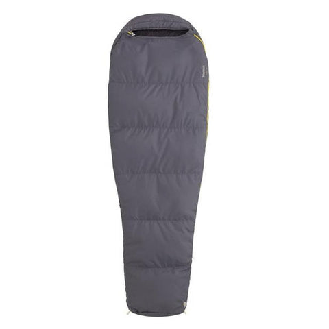 Marmot Nanowave 55 Long Flint Zipped Open