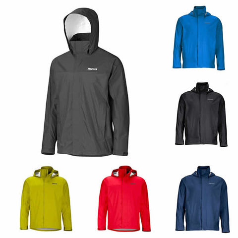 Marmot Men's Precip Hiking and Travel Jacket - lightweight, waterproof, windproof, breathable