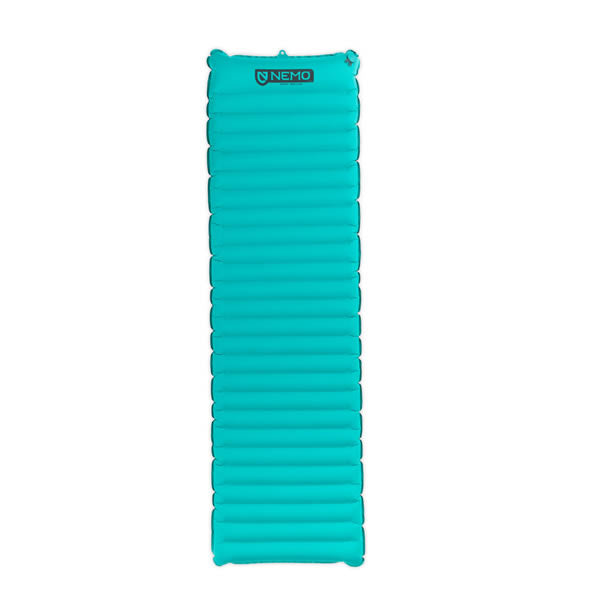 Nemo Astro Inflatable Sleeping Mat Verglas Green Full View