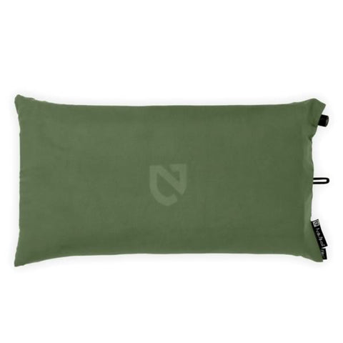 Nemo Filo Luxury Camping Pillow Moss Green side view