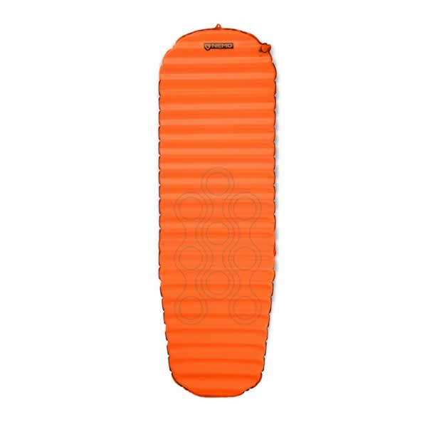 Nemo Flyer Self Inflating Hike Camp Sleeping Mat Long Wide