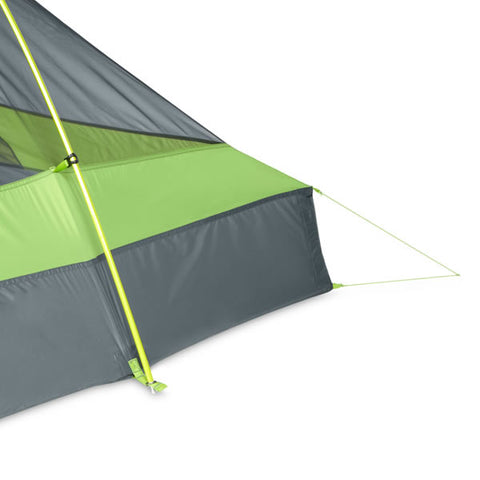 Nemo Hornet 1 Person Ultralight Hiking Tent stake out end