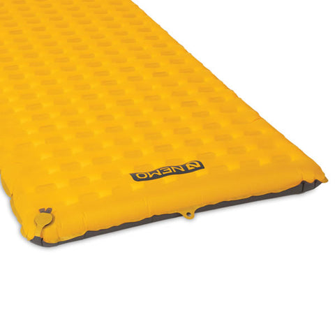 Nemo Tensor Insulated Inflatable Mattress Long Wide end view
