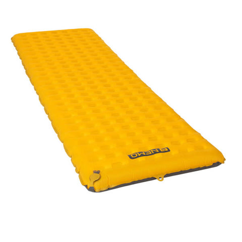 Nemo Tensor Insulated Ultralight Sleeping Mat Regular end view