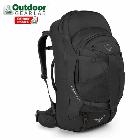 Osprey Farpoint 55 Litre Travel Backpack Volcanic Grey Outdoor Gear Lab Editor's Choice Award