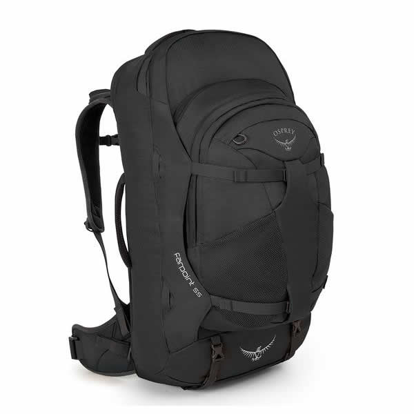 Osprey Farpoint 55 Litre Travel Backpack Volcanic Grey