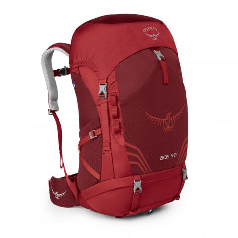 Osprey Ace 38 Litre Kids Backpack Paprika Red