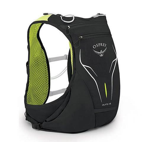 Osprey Duro 1.5 Litre Running Vest with flasks rear view