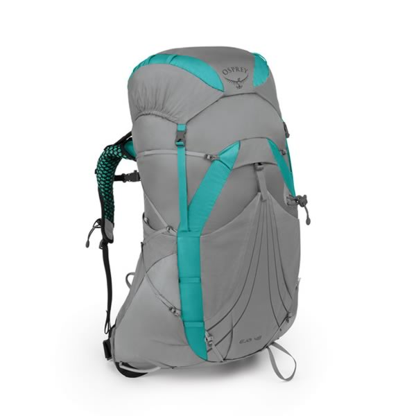 Osprey Eja 48 Litre Womens Ultralight Backpack Moonglade Grey