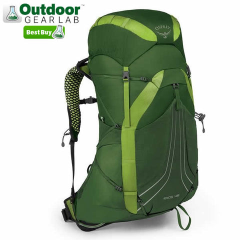 Osprey Exos 48 litre Lightweight Backpack Tunnel Green Outdoor Gear Lab Best Buy Award
