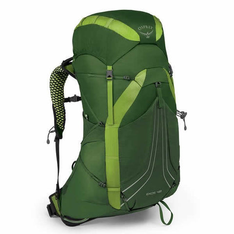 Osprey Exos 48 Litre Lightweight Backpack Tunnel Green