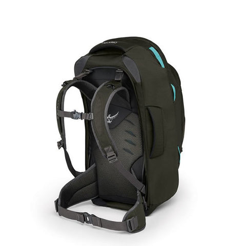 Osprey Fairview 55 Litre Women's Travel Backpack Harness Misty Grey