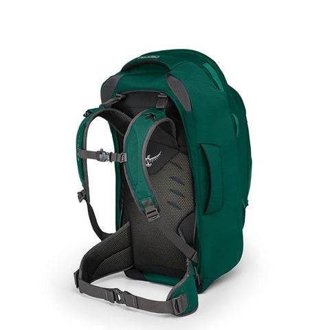 Osprey Fairview 55 Litre Women's Travel Backpack Harness Rainforest Green