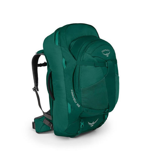 Osprey Fairview 55 Litre Women's Travel Backpack Rainforest Green
