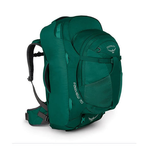 Osprey Fairview 70 Litre Women's Travel Backpack Harness Rainforest Green
