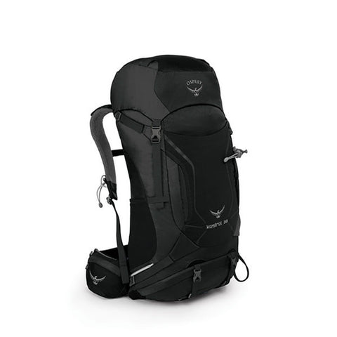 Osprey Kestrel 38 Litre Day / Thru-Hiking Backpack Black