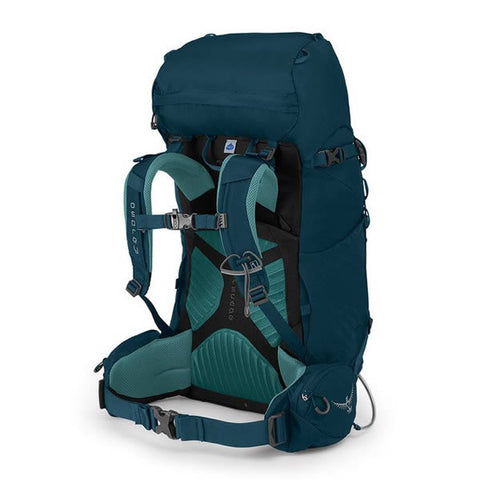 Osprey Kyte Womens 36 litre daypack thru hike backpack icelake green harness
