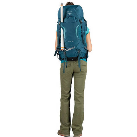 Osprey Kyte Womens 36 litre daypack thru hike backpack ice tool attachments