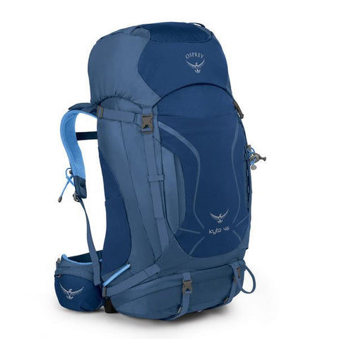 Osprey Kyte 46 Litre Women's Thru-Hiking Backpack ocean blue