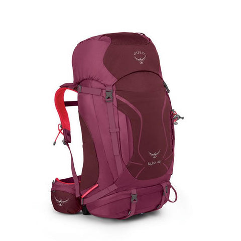 Osprey Kyte 46 Litre Women's Thru-Hiking Backpack purple calla