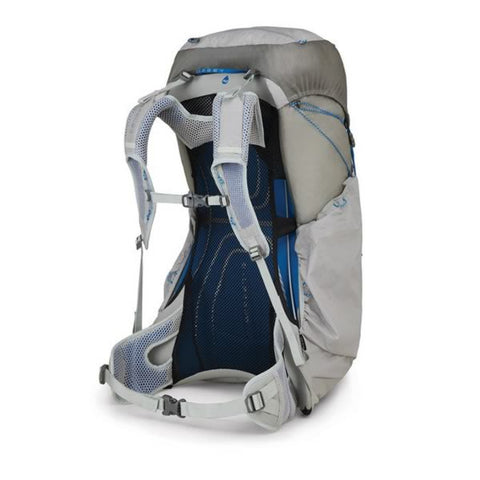 Osprey Levity Ultralight Hiking Backpack 60 Litres Parallax Silver