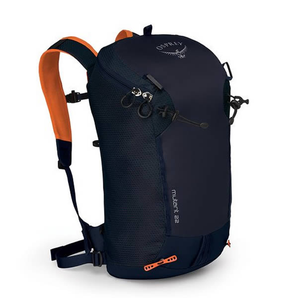 Osprey Mutant 22 Litre Climbing / Mountaineering Daypack blue fire