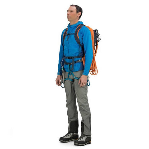 Osprey Mutant 22 Litre Climbing / Mountaineering Daypack in use front view