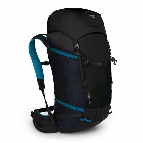 Osprey Mutant 38 Litre Mountaineering Ice Climbing Backpack Black Ice
