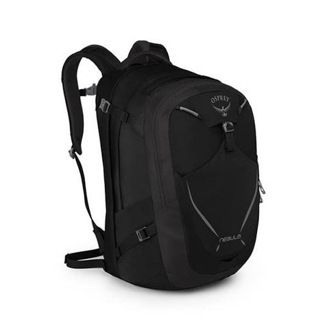 Osprey Nebula 34 Litre Carry On Luggage / Commute Daypack Black