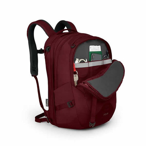 Osprey Nova Womens 33 litre Carry on daypack with laptop sleeve front pocket