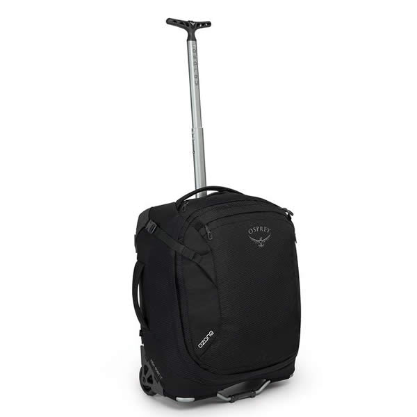 Osprey Ozone 38 Litre 19.5 Inch Global Carry-on Size Wheeled Travel Luggage Black