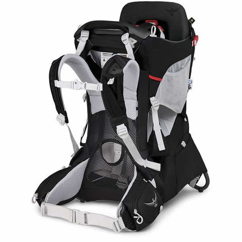 Osprey Poco Plus Child Carrier Starry Black harness