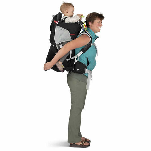Osprey Poco Plus Child Carrier in use