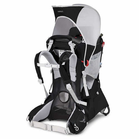 Osprey Poco Plus Child Carrier Starry Black sunshade