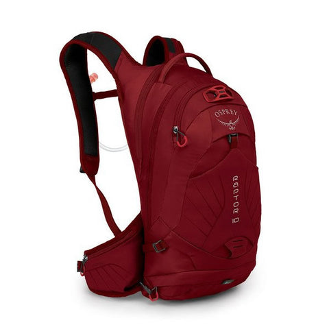 Osprey Raptor 10 Litre MTB Hydration Pack Wildfire Red
