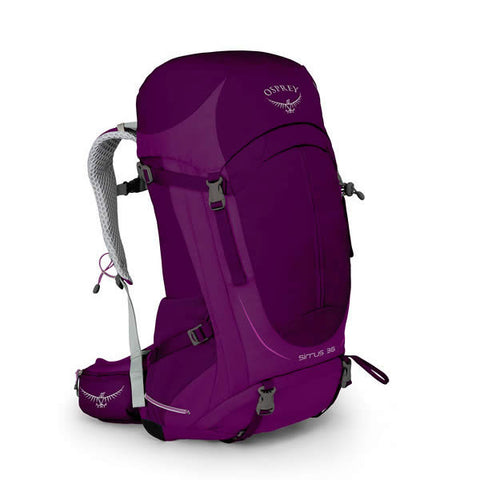 Osprey Sirrus 36 Litre Women's Overnight Hiking / Daypack - latest model Ruska Purple