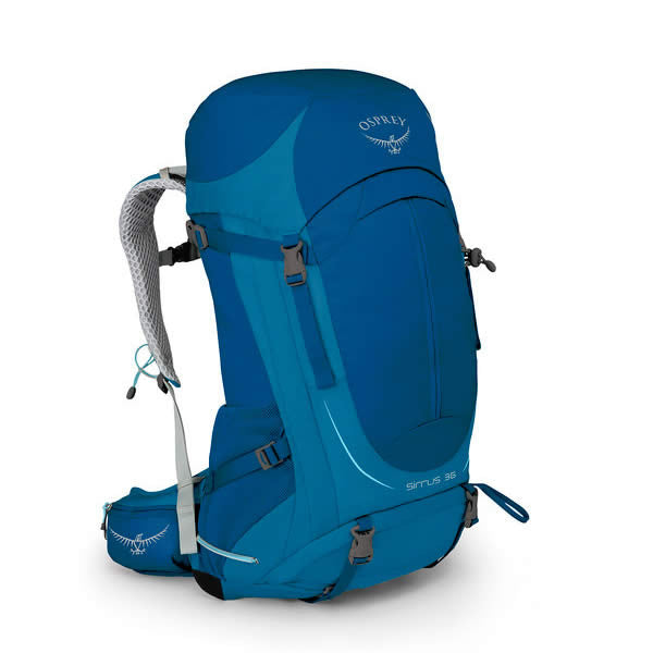 Osprey Sirrus 36 Litre Women's Overnight Hiking / Daypack - latest model summit blue