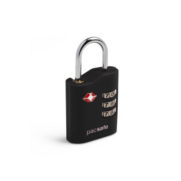 Pacsafe Prosafe 700 combination TSA padlock black