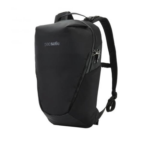 Pacsafe Venturesafe X 18 Anti-Theft Backpack Daypack Black side view