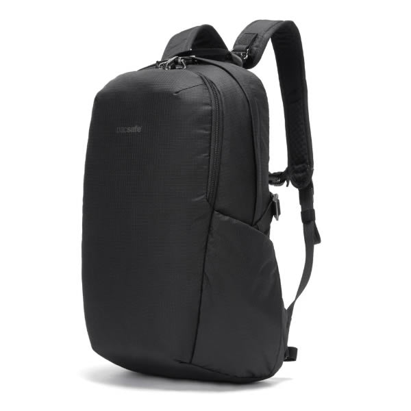 Pacsafe Vibe 25 Litre Anti Theft daypack black side view